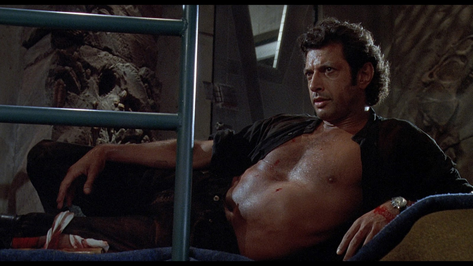 Dr. Ian Malcolm And His Sweaty Chest Are Returning For Jurassic ...
